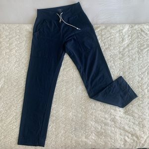 Lulu Lemon Wide Leg Yoga Pants in Navy